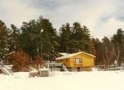 Winter Beach house
