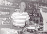 Lynn in the store 1950s