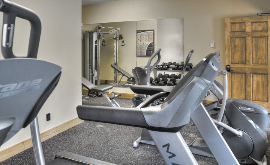 fitness room Boyd lodge