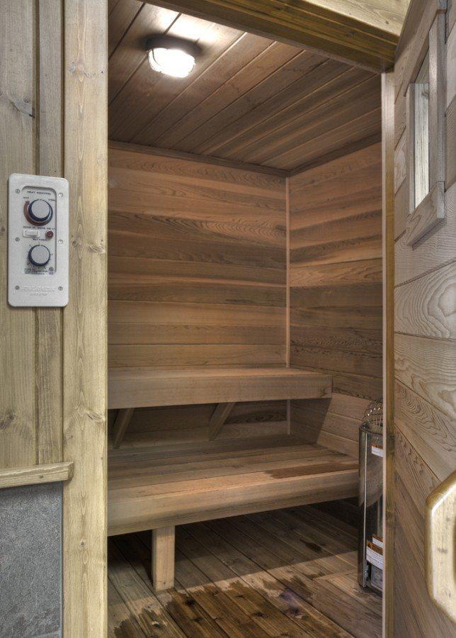 sauna Boyd lodge